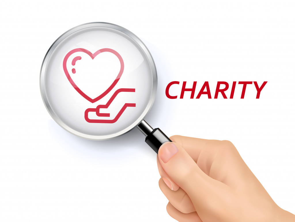 searching for charity